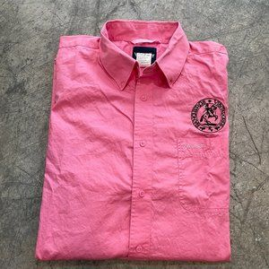Wrangler Rancheros Vistadores Pink Ribbon Shirt